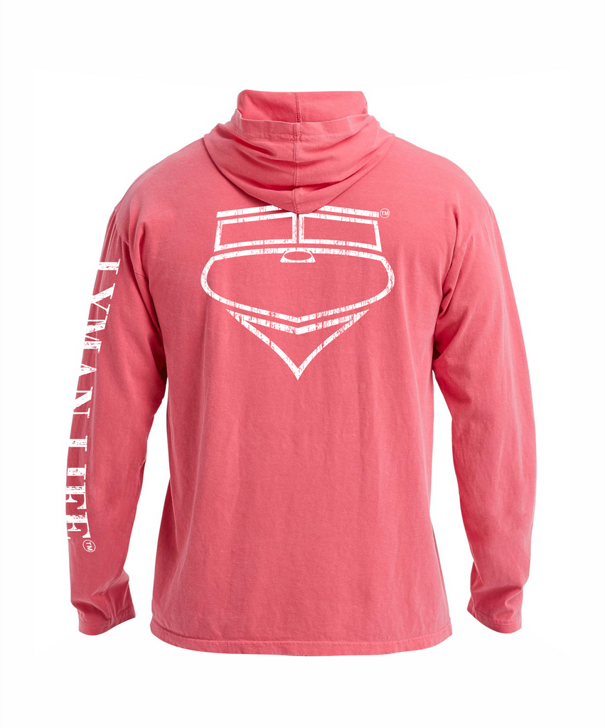 Lyman Life Hooded Long-Sleeve Tee