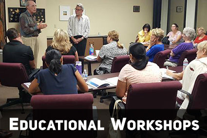 Workshops for Parents Teachers and Care Givers