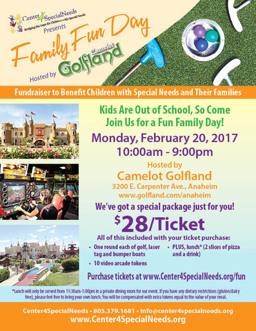 Family Fun Day - Event Ticket