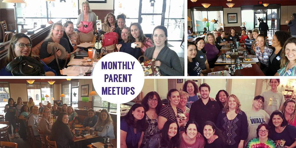 Monthly Parent Meetups