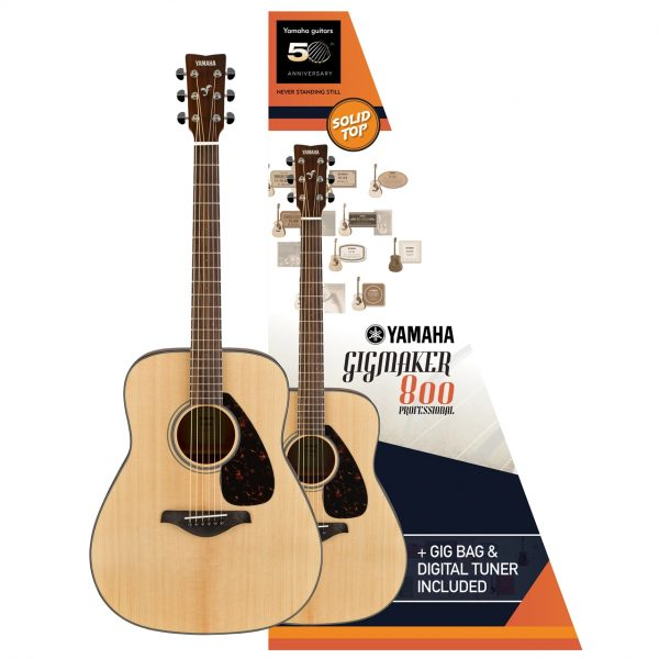 GIGMAKER800 ACOUSTIC GUITAR PACK GLOSS