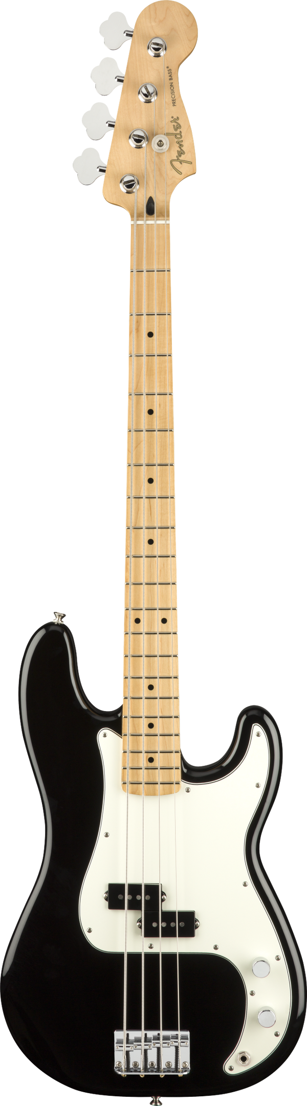 PLAYER PRECISION BASS MN BLACK