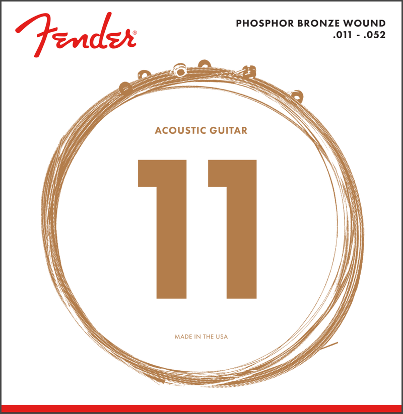 Phosphor Bronze Acoustic Guitar Strings 11
