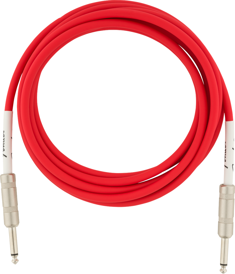 Original Series Instrument Cables 10' Fiesta Red