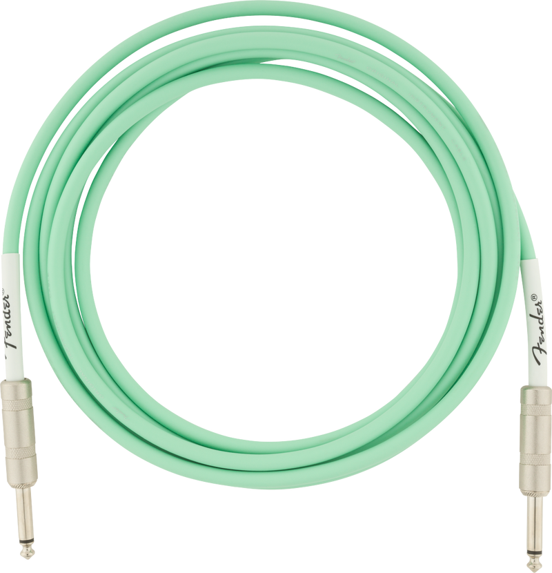Original Series Instrument Cables 10' Surf Green