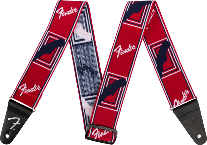 WeighLess™ Monogram Strap Red