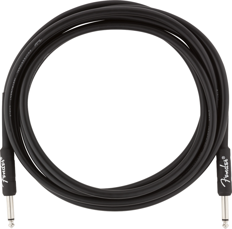 Professional Series Instrument Cable Straight/Straight 10' Black