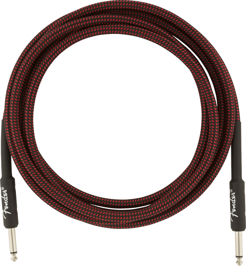 Professional Series Instrument Cable 10' Red Tweed