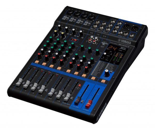 MG10XUF D-PRE MIXER WITH EFFECTS, USB AND FADERS