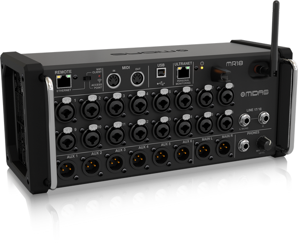 MR18 DIGITAL MIXER