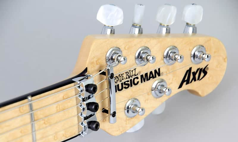 MUSIC MAN AXIS BFR STEEL BLUE FLAME