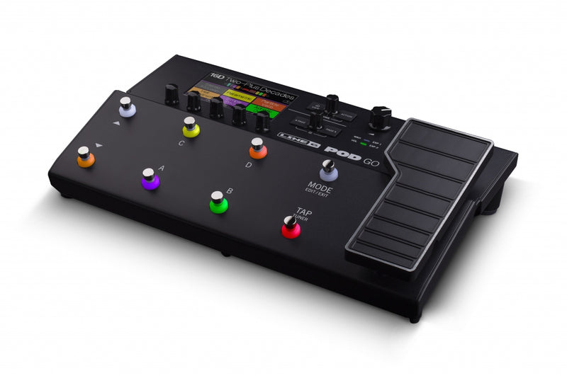 POD-GO  MULTI-EFFECTS PROCESSOR