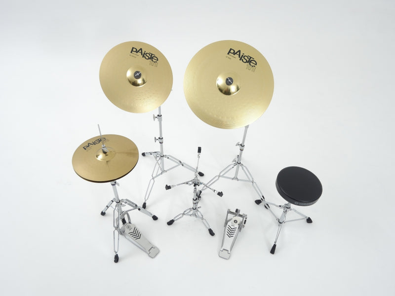 RYDEEN FUSION DRUM KIT IN BURGUNDY GLITTER