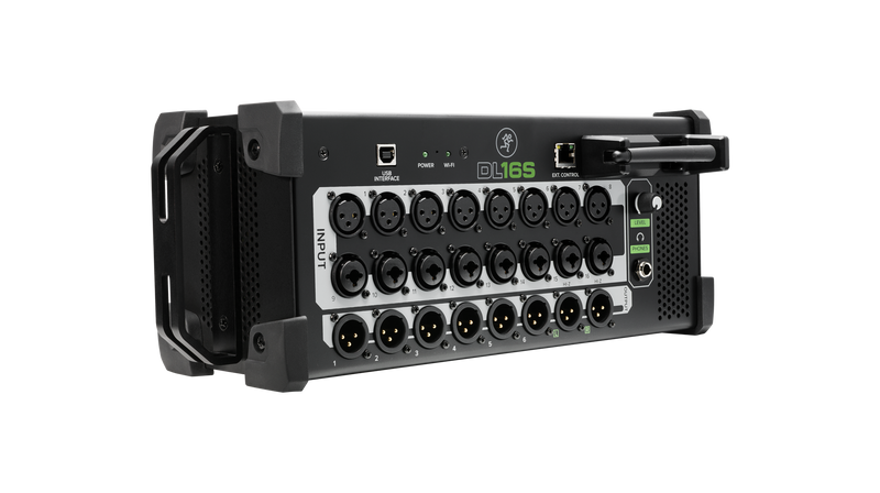 16-CHANNEL WIRELESS DIGITAL LIVE SOUND MIXER DL16S