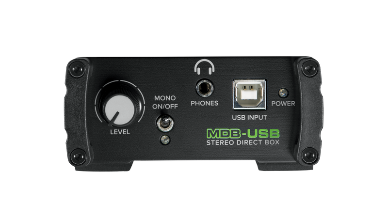 MDB-USB STEREO DIRECT BOX