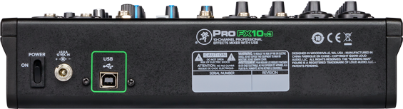 PROFX10V3 PROFESSIONAL EFFECTS MIXER