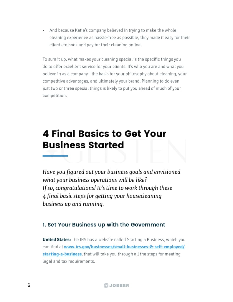 How To Run A Cleaning Business Guide