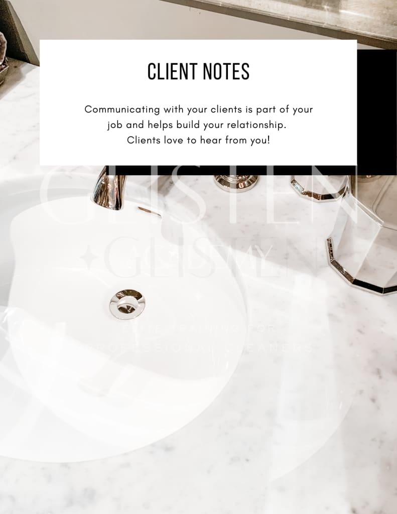 The Cleaners Binder Template Template