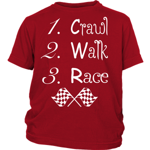 Crawl, Walk, Race!