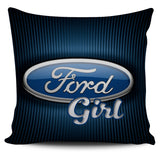 Ford Girl Pillow Covers