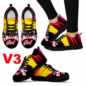 Racing Girl Sneakers We Pay Shipping!