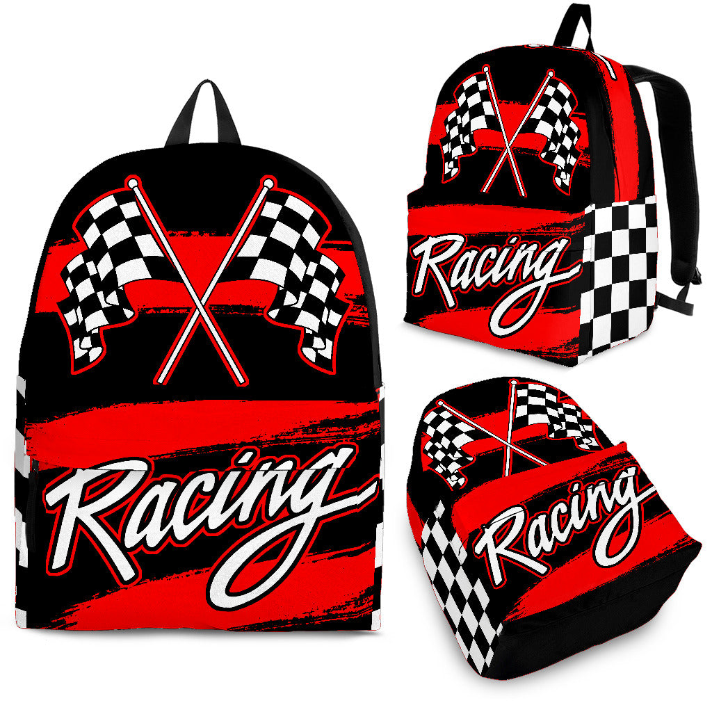 Racing Backpack With FREE SHIPPING TODAY!