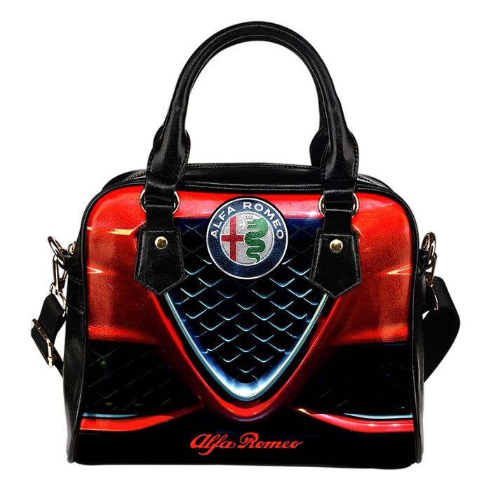 Alfa Romeo Shoulder Handbag With FREE SHIPPING TODAY!
