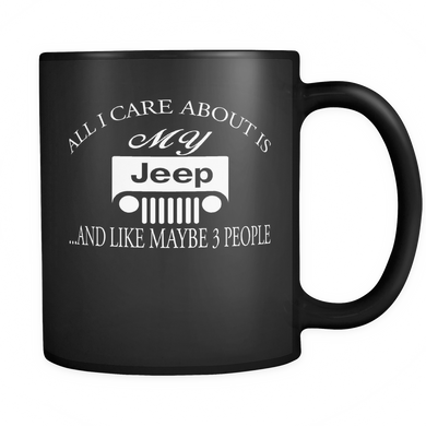 All I Care About Is My Jeep