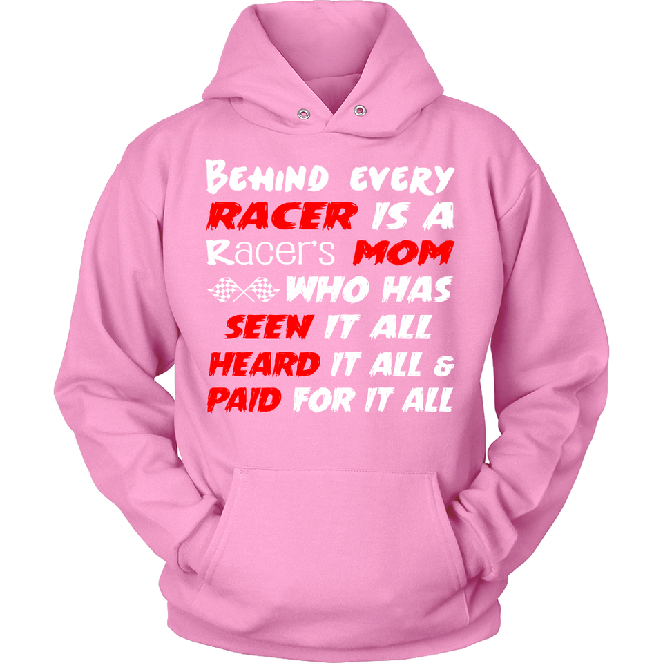 Behind Every Racer Is A Racer's Mom!