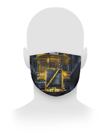 Caterpillar Face Mask V4 Cloth Face Mask