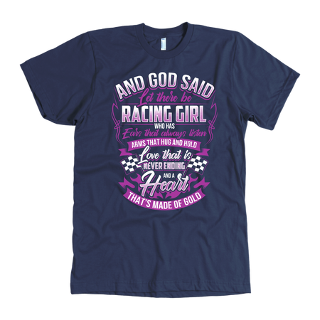 And God Said Let There Be Racing Girl!