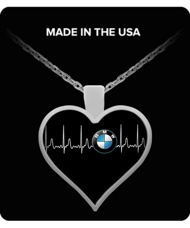 A Must Have - BMW Heartbeat Necklace!