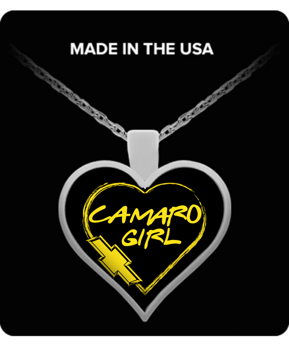 A Must Have - Camaro Girl Necklace!