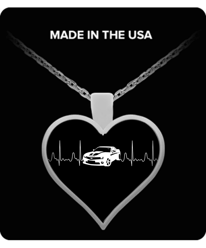 A Must Have - Camaro Heartbeat Necklace!