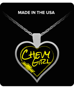 A Must Have - Chevy Girl Necklace!