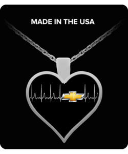A Must Have - Chevy Heartbeat Necklace!