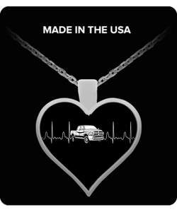 A Must Have - Dodge Ram Heartbeat Necklace!