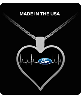 A Must Have - Ford Heartbeat Necklace Blue!