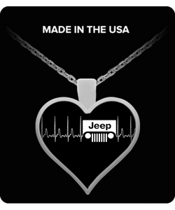 A Must Have - Jeep Heartbeat Necklace NEW!