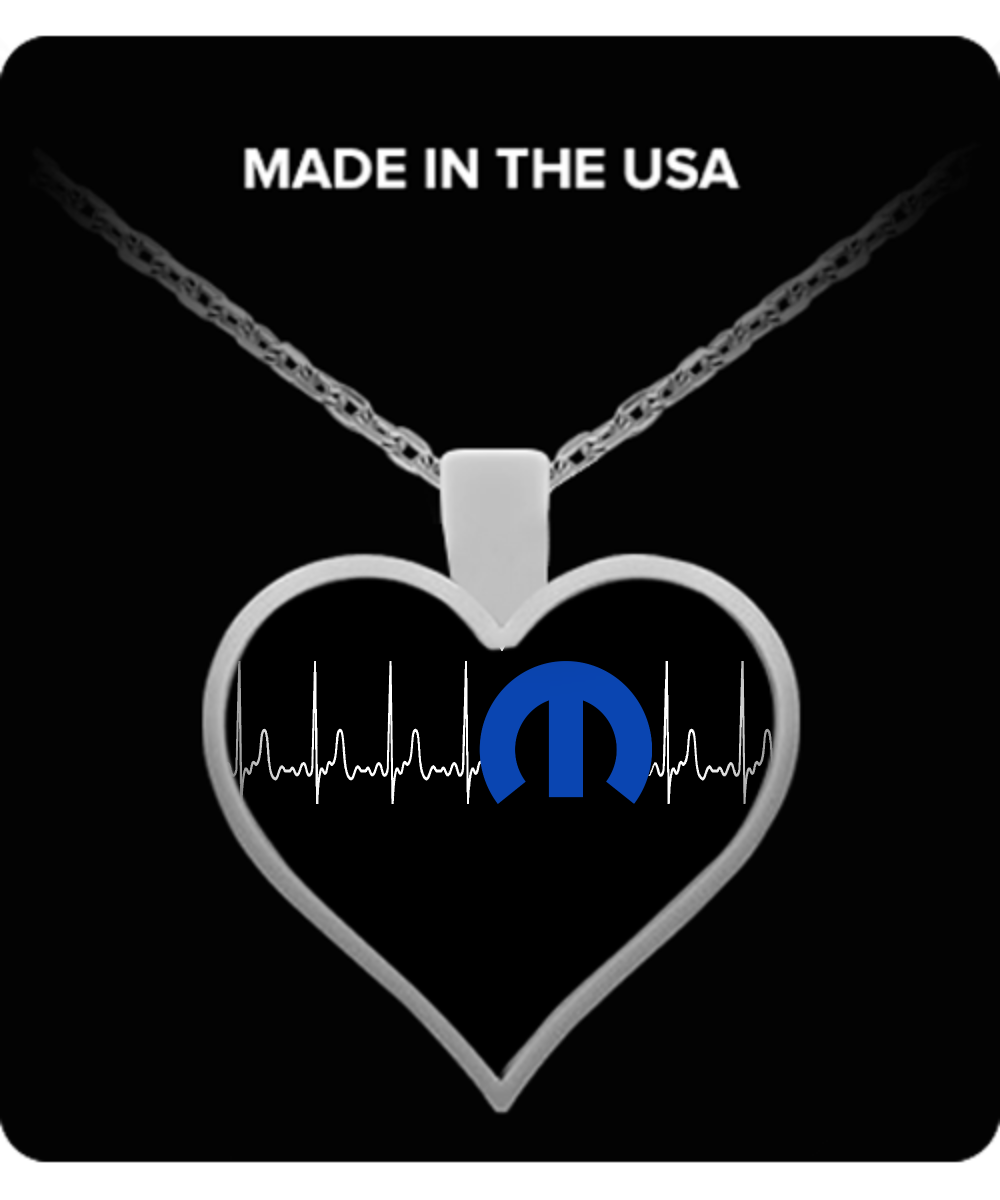 A Must Have - Mopar Heartbeat Necklace!