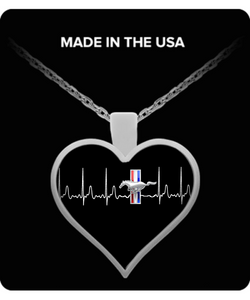 A Must Have - Mustang Heartbeat Necklace NEW!