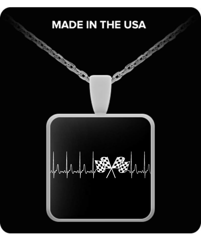 A Must Have - Racing Heartbeat Necklace New