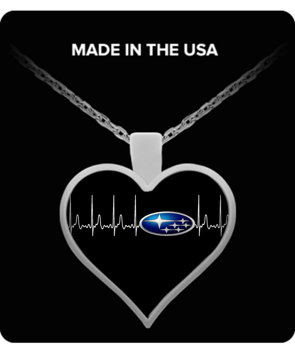 A Must Have - Subaru Heartbeat Necklace!