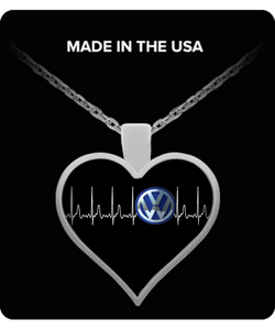 A Must Have - Volkswagen Heartbeat Necklace!