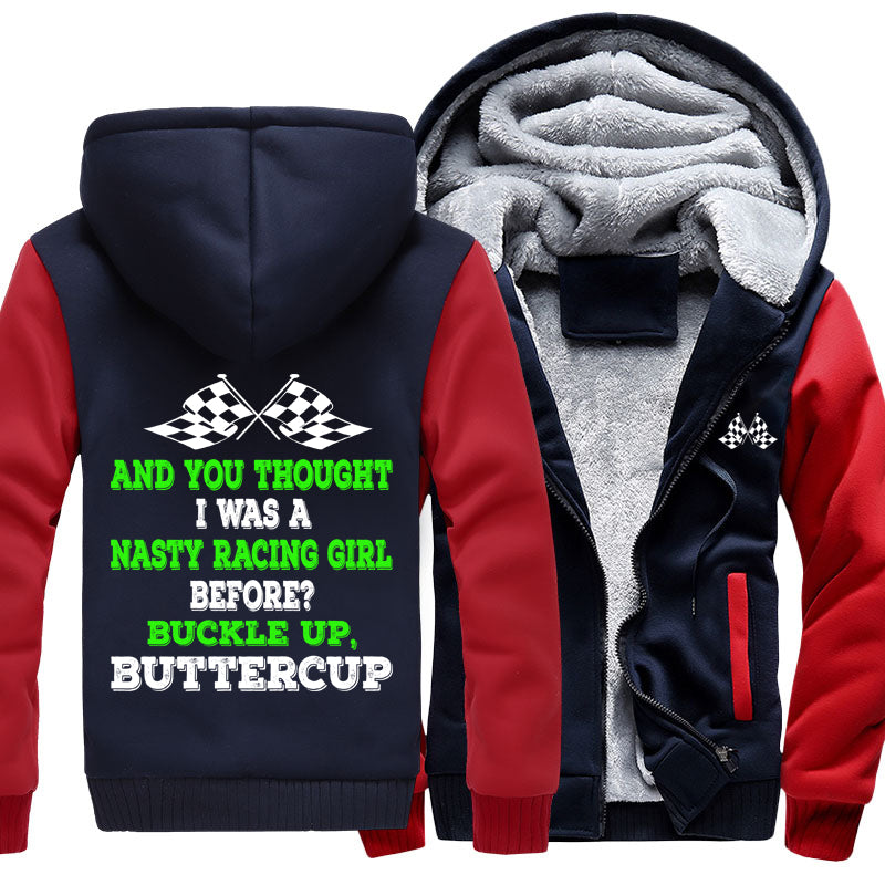And You Thought I Was A Nasty Racing Girl Before? Jacket With FREE SHIPPING!