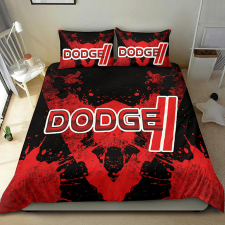 Dodge Bedding Set Red