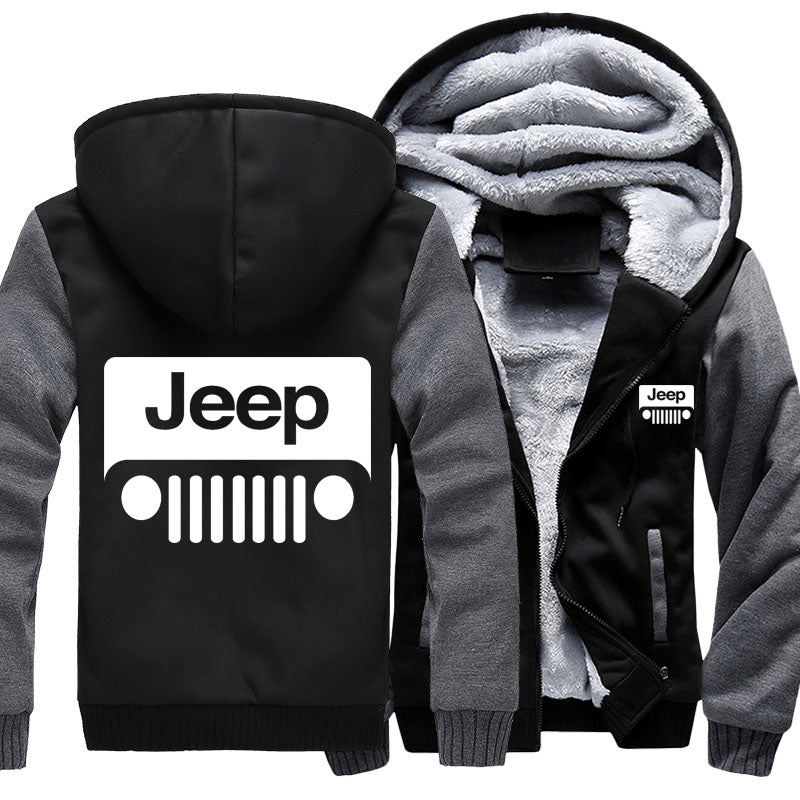 Super Warm Jeep Jackets With FREE SHIPPING!