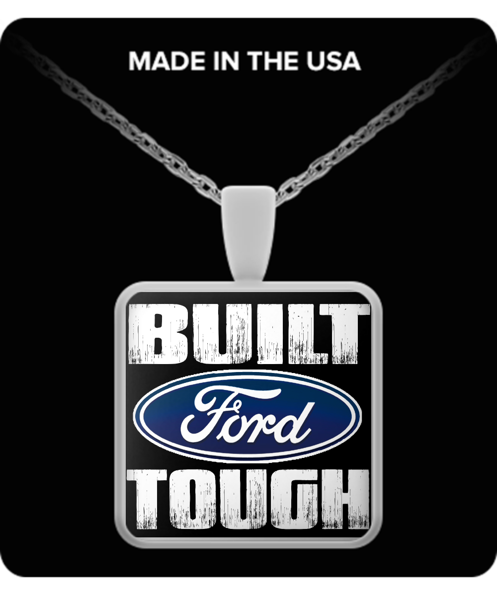 Limited Edition - Ford Built Tough Necklace