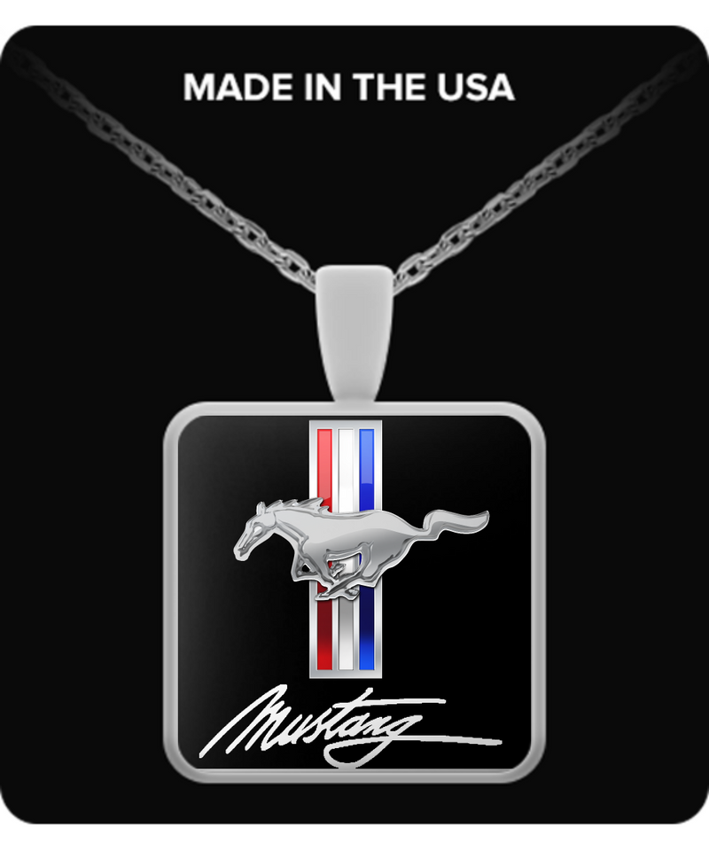 A Must Have - Mustang Necklace!