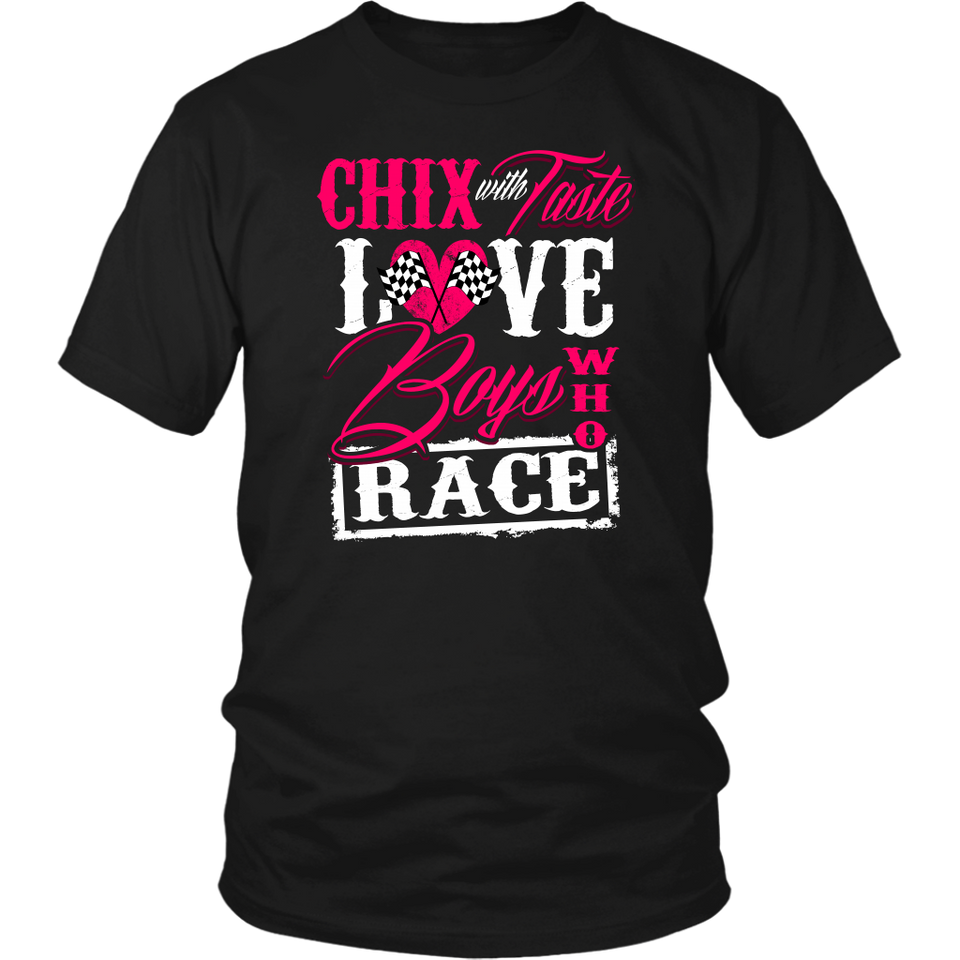 Chix With Taste Love Boys Who Race!